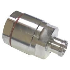 DIN male connector for 1- 5 by 8 LDF cable