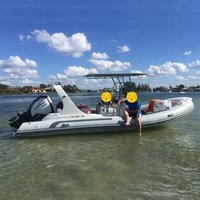Liya 6.6m/22ft rigid hull Inflatable rib Boat for sale