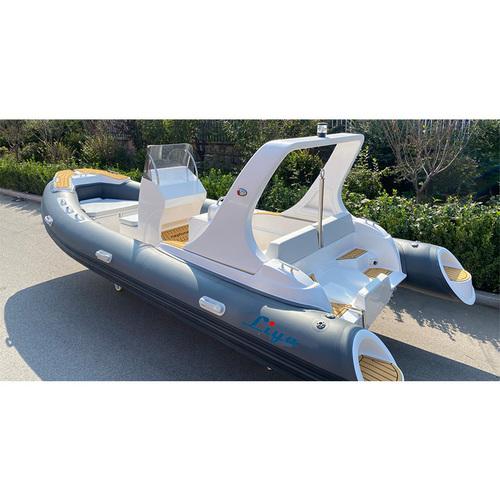 19 Feet Hypalon Semi Rigid Inflatable Boat - Manufacturer