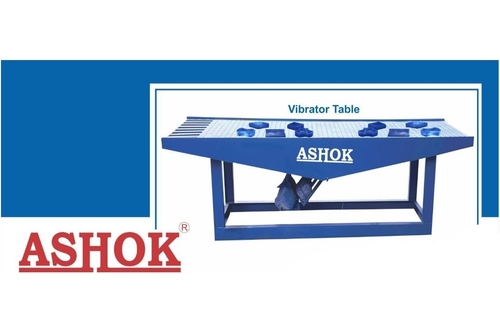 Vibratory Table For Rubber Moulds