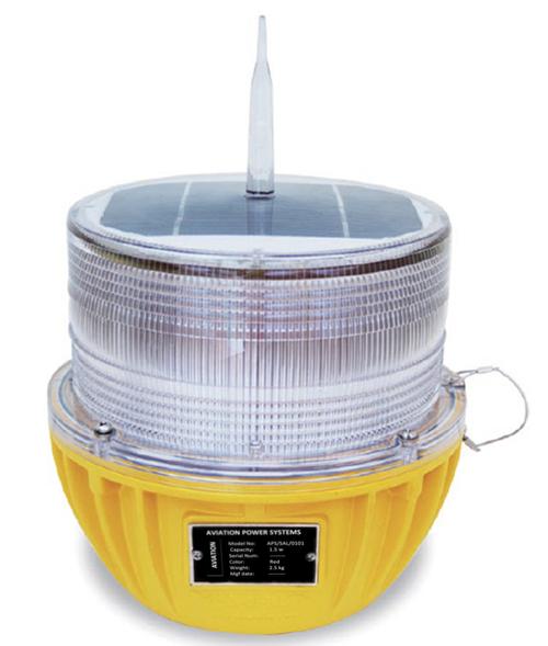 SOLAR BASED AVIATION WARNING LIGHT