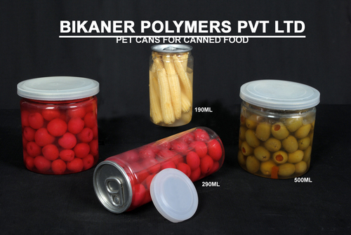Canned Food Packing Pet Cans