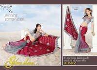 Designer Lehanga Saree