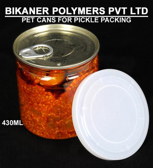 Plastic Pickle Pet Cans