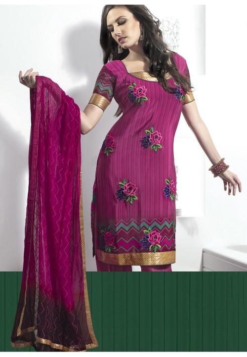 Luscious Pink Salwar Kameez