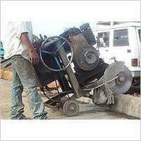 Concrete Kerb Cutting Machine