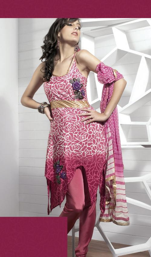 Exquisite Deep Pink Salwar Kameez