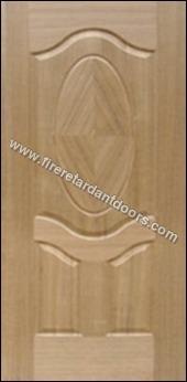 3 Panel Veneer Moulded Door