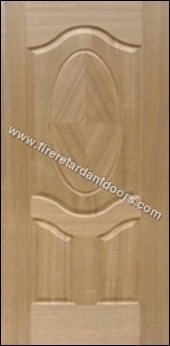 3 Panel Veneer Moulded Door