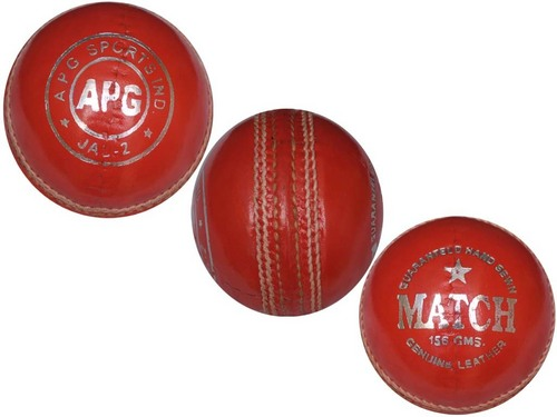 APG Match Leather Cricket Ball