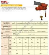 Electrical wire rope hoist Suppliers Surat Gujarat