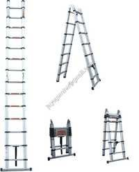 Aluminium Retractable Telescopic Ladder