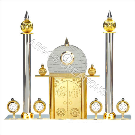 Designer Metal Table Clocks