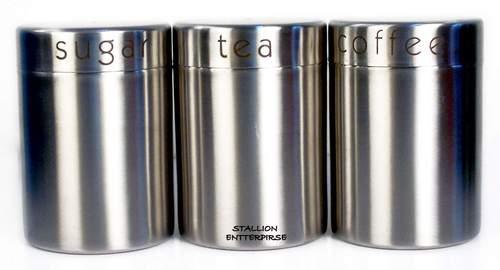 stainless jar