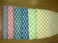 100% cotton hand block printed