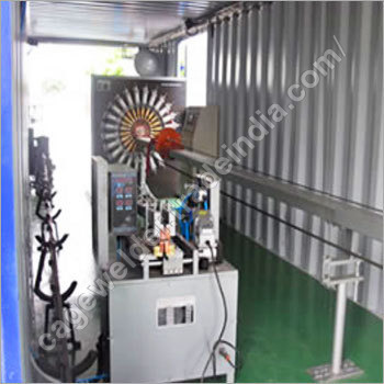 Mobile Wire Cage Welding Machine