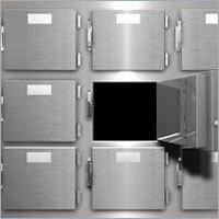 Mortuary chamber 9 cadaver