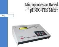 Microprocessor based PH-EC-TDS Meter