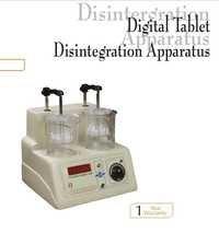 digital tablet disintegration apparatus