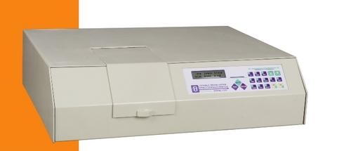 microprocessor double beam spectrophotometer