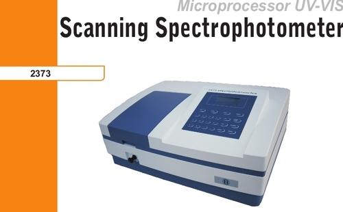 scanning spectrophotometer