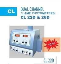 Double Channel Flame Photometer