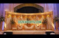 Beautiful Crystal Wedding Stage
