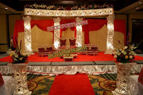 WEDDING CRYSTAL STAGE DECORS