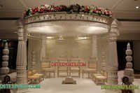 Wedding White Royal Mandap Set