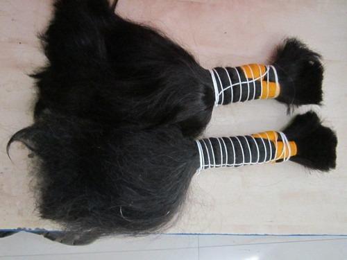 Natural Bulk Hair Indian Temple Hair