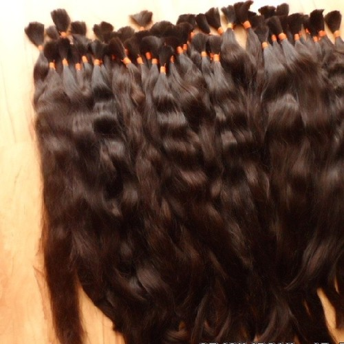 Bulk Hair Indian Temple Hair 100