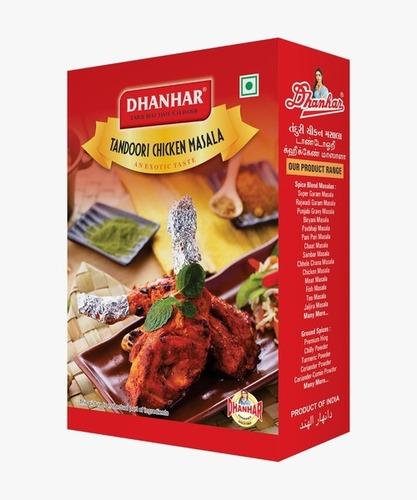 Dhanhar Tandoori Chicken Masala No Artificial Colour Added, 500 Grams   Spice Mix