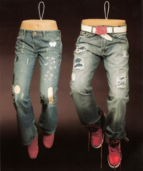 Jeans Mannequins