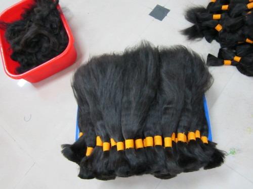 100% Bulk Virgin Indian Temple Hair