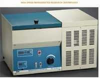 high speed refrigerated research centrifuges
