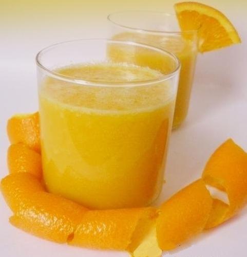 Orange Ginger Soft Drink Concentrate