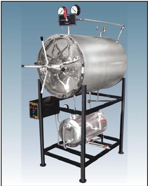Horizontal- Autoclave Sterilizer-Cylinderical