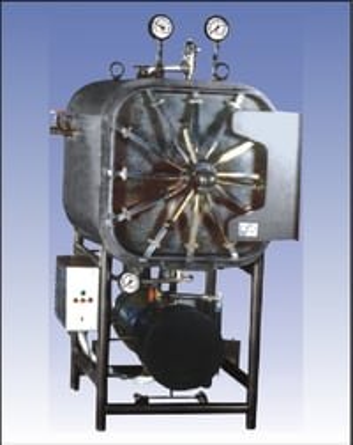 Horizontal- Autoclave Sterilizer-Rectangular