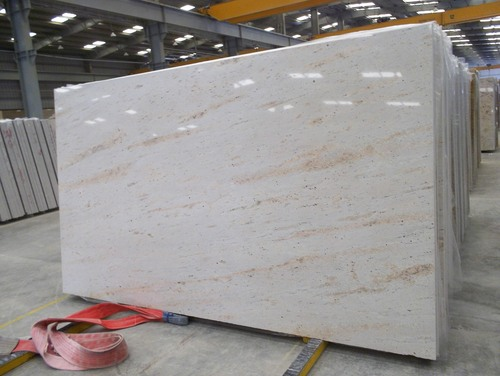 Ivory Cream Granite Slabs