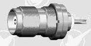 TNC female bulkhead PTFE connector