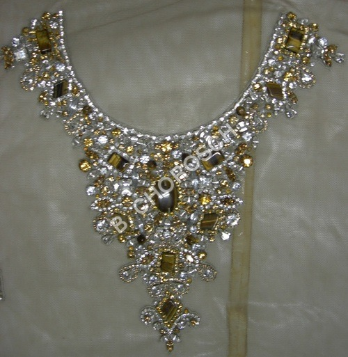 Embroidered Designer Necklace