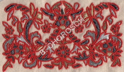 Bead Embroidery Fabric