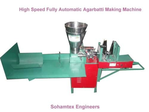 Stainless Steel Agarbatti Making Machine