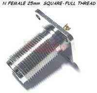 N Female Square Full Thread