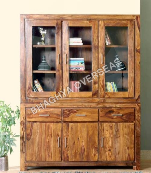 Wooden Almirah with Drawer