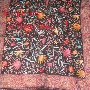 Heavy Embroidery Kashmir Shawls