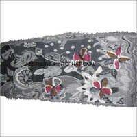 Floral Printed Wool Muffler