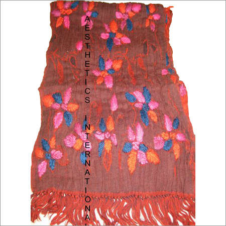 Boiled Wool Lycra Stole