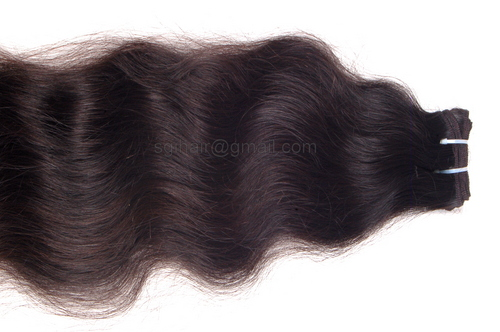 Double Wefted Hair Extensions