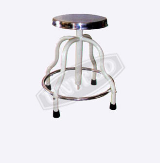 Patient Stool Revolving S. S. Top